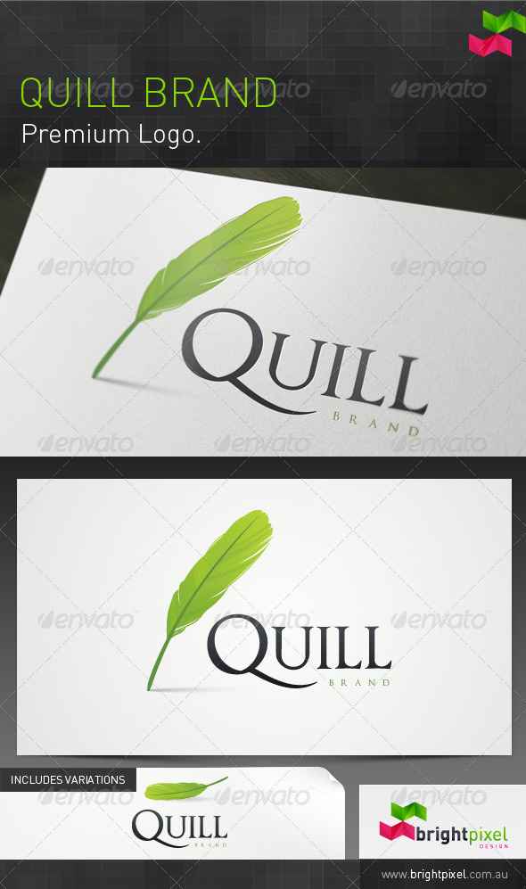 Quill Brand - Objects Logo Templates