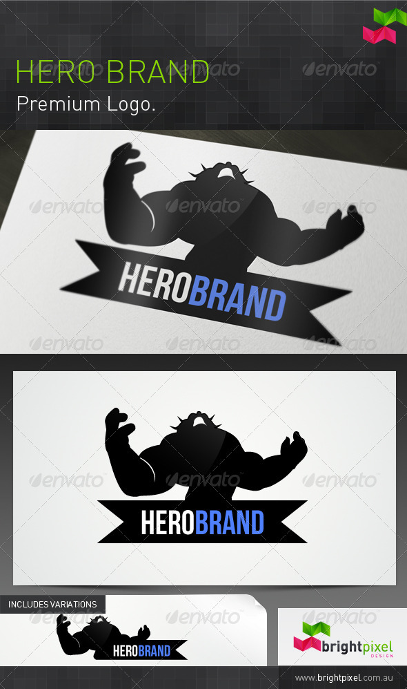 Hero Brand - Animals Logo Templates