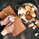 Wild Fresh Porcini and Female Hands - PhotoDune Item for Sale