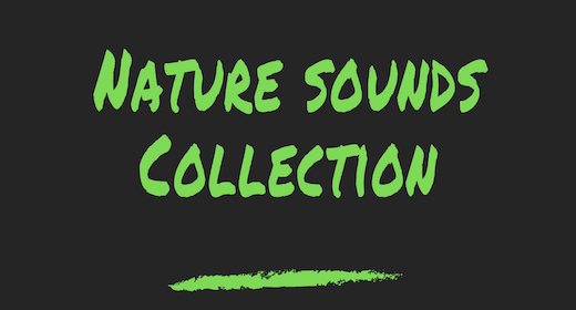 Nature Sounds Collection
