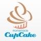 Homemade Cupcake Logo - GraphicRiver Item for Sale