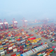 aerial view of shanghai container port - PhotoDune Item for Sale