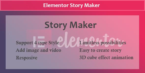 Download Elementor – Story Maker Free Nulled