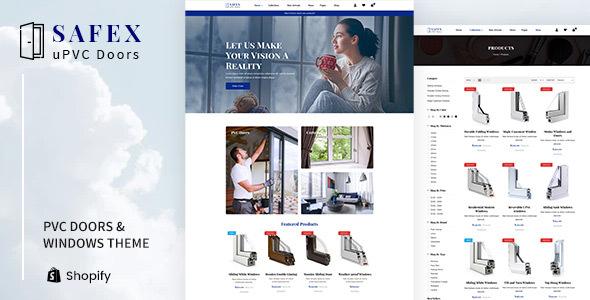 Safex Hardware Shop Upvc Furniture Shopify Theme By Designthemes