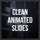 Clean Animated Slides - VideoHive Item for Sale