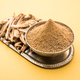 Dry mango powder is an indian spice amchoor with raw dried fruit - PhotoDune Item for Sale