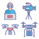 Video Shooting Vector Icon