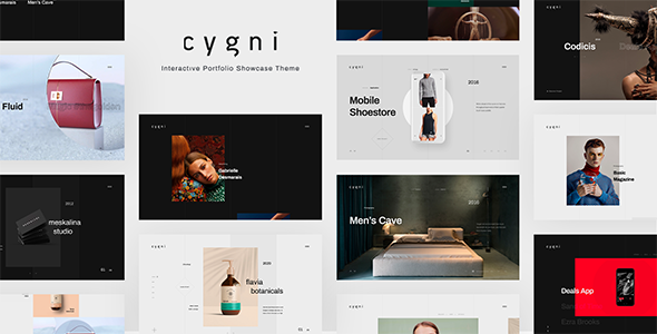 Cygni - Interactive Portfolio Showcase Theme