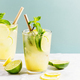 Freshmade cocktail with lime and mint - PhotoDune Item for Sale