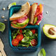 Vegan lunch to go served in lunch box - PhotoDune Item for Sale