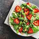 Appetizing freshmade summer salad in bowl - PhotoDune Item for Sale
