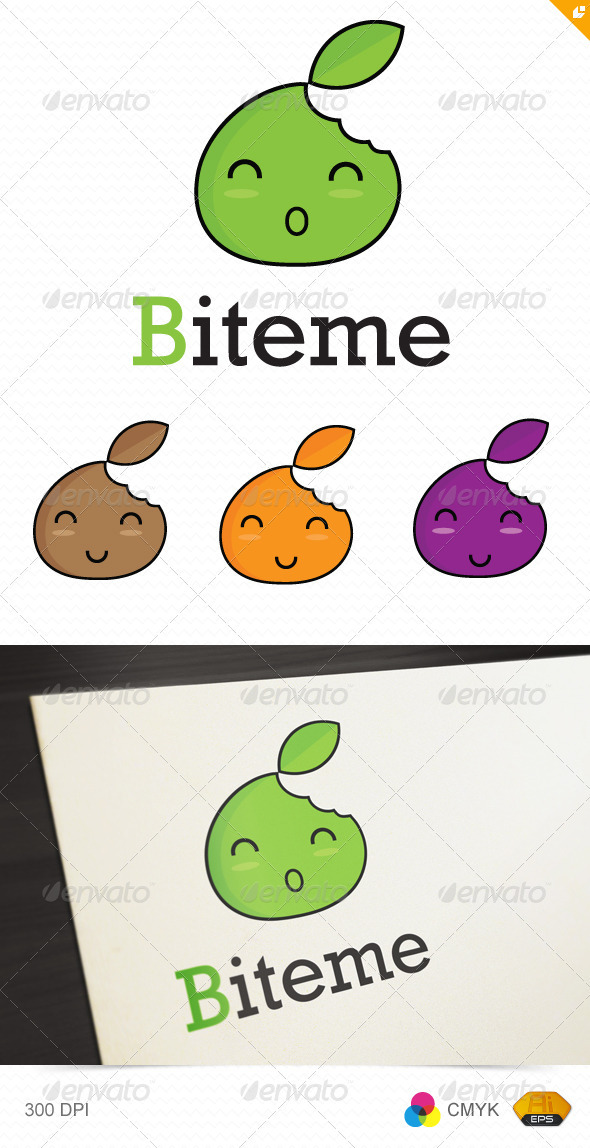 Biteme Logo - Food Logo Templates