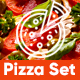 Pizza Set - Social Network - VideoHive Item for Sale