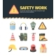 Protection Safety Work Tools Set
