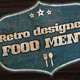 Retro Style Menu - GraphicRiver Item for Sale