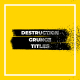 Destruction Grunge Titles - VideoHive Item for Sale