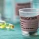 Diverse medication in glasses monodose - PhotoDune Item for Sale