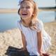 Girl on a sandy beach - PhotoDune Item for Sale