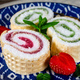 Slices of homemade sweet roll with fruit jam. - PhotoDune Item for Sale