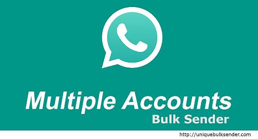 Multi Account WhatsApp Bulk Sender