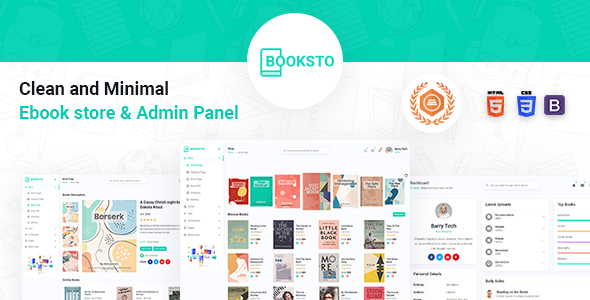 Download Booksto - Ebook Admin Template }}