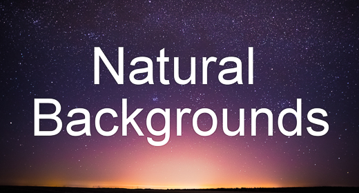 Natural Backgrounds and Backdrops