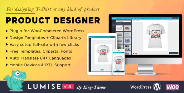Product Designer for WooCommerce WordPress | Lumise Nulled