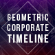 Geometric Corporate Timeline - VideoHive Item for Sale