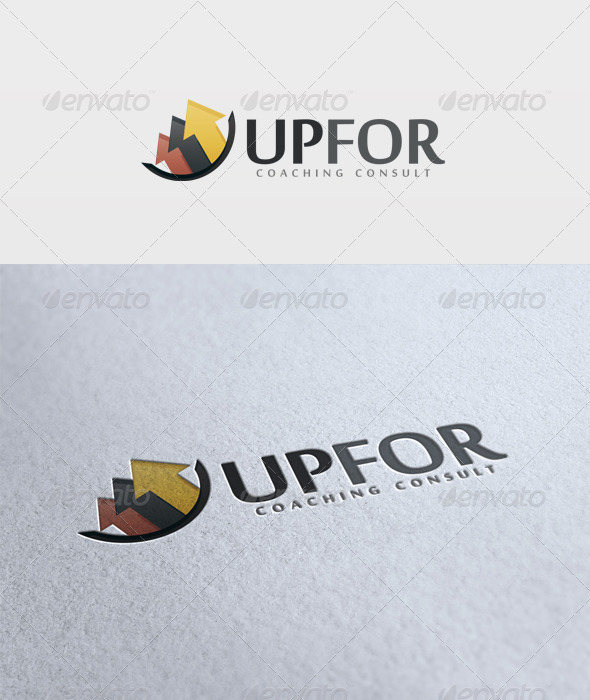 Upfor Logo - Vector Abstract