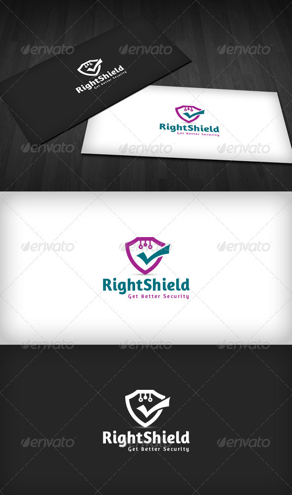 Right Shield Logo - Symbols Logo Templates