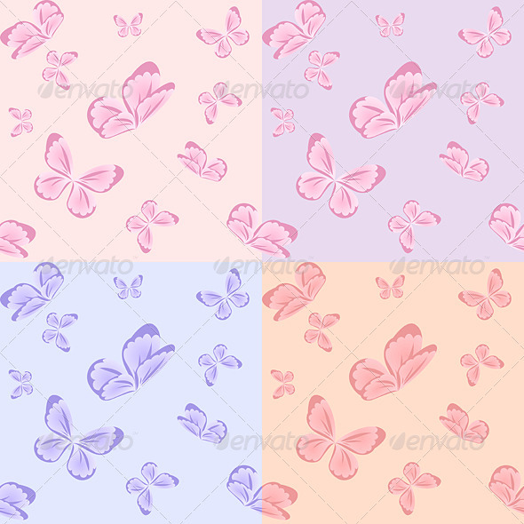 Butterflies - Miscellaneous Vectors