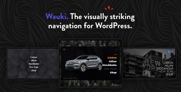 Wauki: Fullscreen WordPress Menu