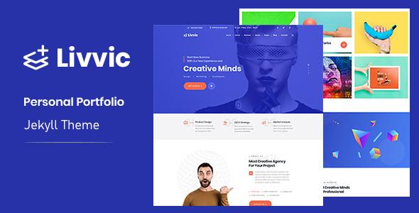 Livvic - Personal Portfolio Jekyll Theme