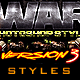 War Photoshop Layer Styles V3 - GraphicRiver Item for Sale