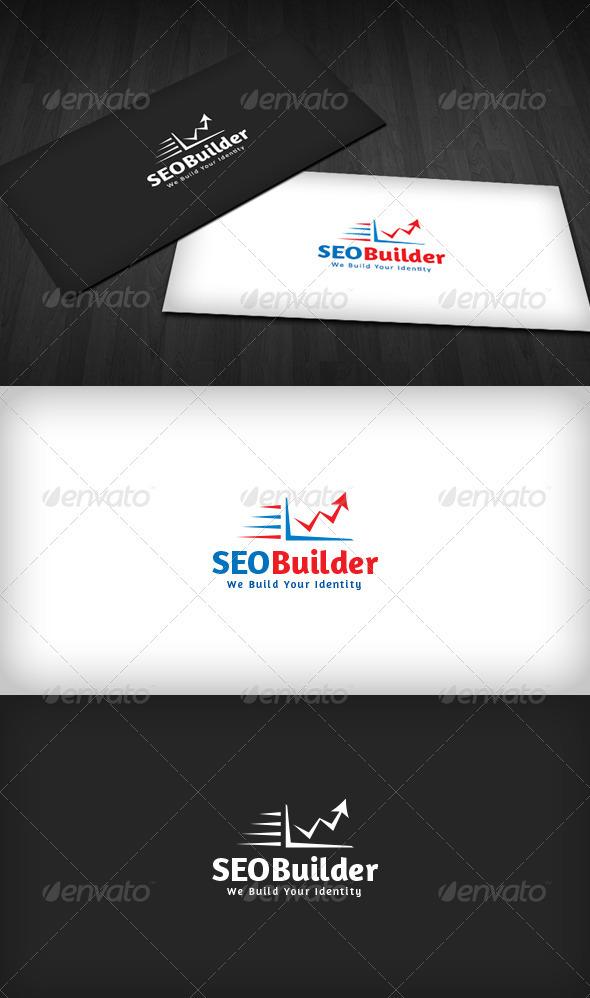 SEO Builder Logo - Vector Abstract