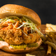 Homemade Spicy Fried Chicken Sandwich - PhotoDune Item for Sale