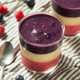 Homemade Healthy Red White Blue Breakfast Smoothie - PhotoDune Item for Sale
