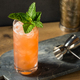 Homemade Refreshing Zombie Tiki Drink Cocktail - PhotoDune Item for Sale