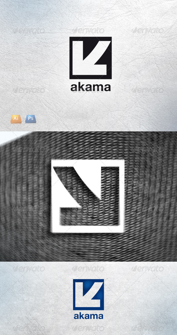 Akama - Letters Logo Templates