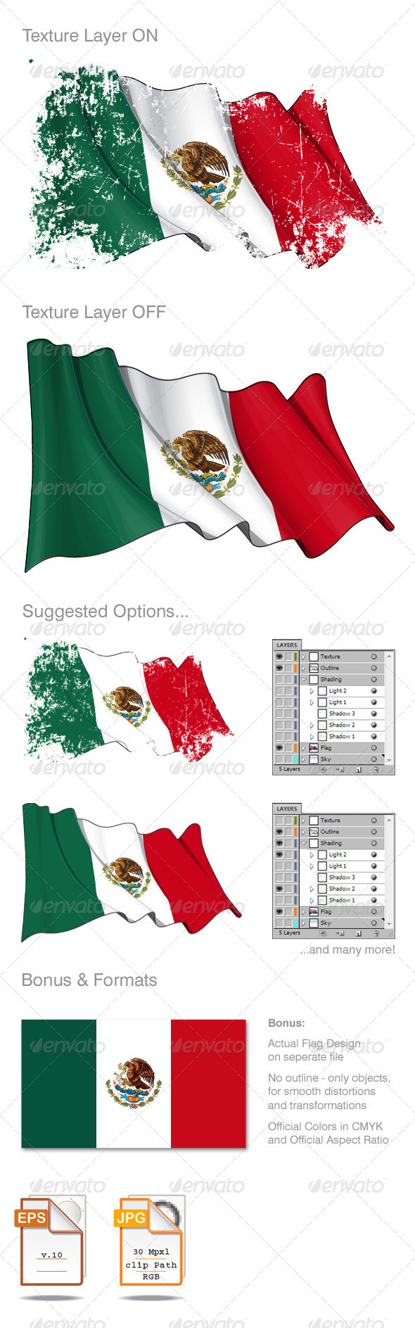 mexico flag grunge by gnazlis graphicriver