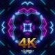 Neon Lamp VJ Light Loop 4K 02 - VideoHive Item for Sale