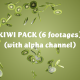 Kiwi Pack (6 footages) - VideoHive Item for Sale