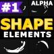 Cartoon Shape Elements - VideoHive Item for Sale