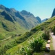 Mountainous Landscape along the Remote Road on the Ha Giang Loop in Vietnam - VideoHive Item for Sale