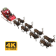 Santa's Sleigh - VideoHive Item for Sale