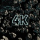 4k Flying Through Asteroids - VideoHive Item for Sale