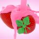 Strawberry Milkshake And Strawberries