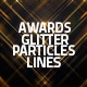 Awards Glitter Particles And Lines Loop Backgrounds (Gold, Blue, Red) - VideoHive Item for Sale