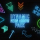 Dynamic Neon Arrow Pack - VideoHive Item for Sale