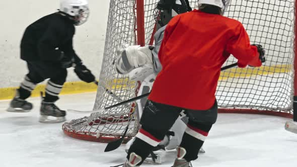 Hockey Goalie Training By Pressmaster Videohive